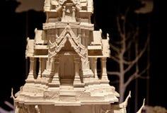 Modèle thaïlandais de temple, musée Siam Photo stock