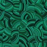 Modèle tileable de malachite vert-foncé Photographie stock libre de droits