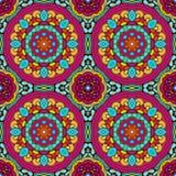 Modèle tiré par la main abstrait coloré sans couture Photo libre de droits