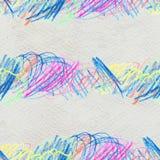 Modèle tiré par la main de griffonnage Image libre de droits