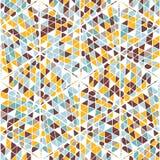 Modèle tiré par la main géométrique sans couture abstrait Photos stock