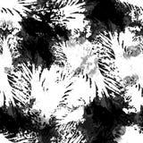 Modèle tiré par la main sans couture d'aquarelle Conception lumineuse pour le papier peint, tuile, textile, tissu, emballage, emp Photo stock