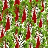 Modèle tiré par la main sans couture d'aquarelle Conception lumineuse pour le papier peint, tuile, textile, tissu, emballage, emp Image stock