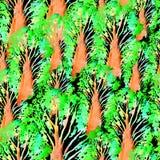 Modèle tiré par la main sans couture d'aquarelle Conception lumineuse pour le papier peint, tuile, textile, tissu, emballage, emp Image libre de droits