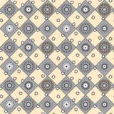 Modèle tiré par la main sans couture de mandala pour imprimer sur le tissu ou la PA Images stock