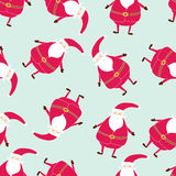 Modèle tiré par la main sans couture de Noël Calibres imprimables Image stock