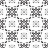 Modèle tissé monochrome sans couture Photo stock