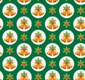 Modèle traditionnel sans couture de Noël Photographie stock libre de droits