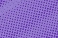 Modèle tramé violet Gradient de Digital Panneau futuriste abstrait pour des sites Web, bannière dans le style de bruit-art, bande illustration libre de droits