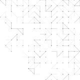 Modèle triangulaire simple illustration stock