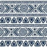Modèle tribal abstrait Photographie stock