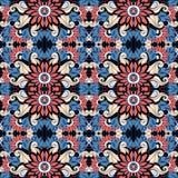 Modèle tribal abstrait sans couture (vecteur) illustration stock