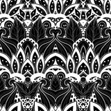 Modèle tribal abstrait sans couture (vecteur) illustration stock