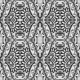 Modèle tribal abstrait sans couture (vecteur) Images stock