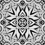 Modèle tribal abstrait sans couture (vecteur) illustration libre de droits