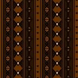 Modèle tribal de vecteur avec le style africain tiré par la main ethnique culturel Bon pour votre emballage et copie de mode de t illustration de vecteur