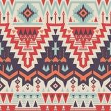 Modèle tribal sans couture de vecteur Images stock
