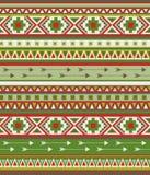 Modèle tribal sans couture de vecteur Photographie stock