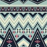 Modèle tribal sans couture de vecteur Image stock