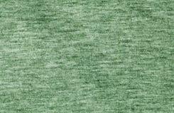 Modèle tricoté de tissu de couleur verte Photo libre de droits