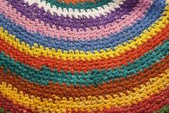 Modèle tricoté lumineux Images libres de droits
