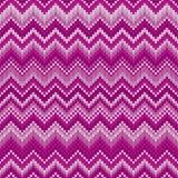 Modèle tricoté par Chevron juste traditionnel d'abrégé sur île Ornement sans couture pour la conception de tricotage de chandail Images stock