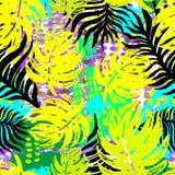 Modèle tropical sans couture exotique illustration de vecteur