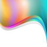 Modèle trouble multicolore avec des lignes illustration stock