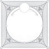 Modèle turc pour la conception d'invitation Photographie stock