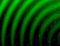Modèle vert abstrait de gradient Images libres de droits