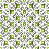 Modèle vert carré de griffonnage photos stock