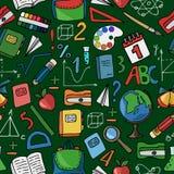 Modèle vert d'école Image libre de droits