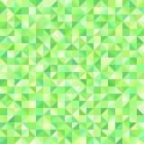 Modèle vert de bonne triangle Fond sans joint de vecteur illustration de vecteur