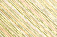 Modèle vert et orange rayé de textile comme fond Photos stock