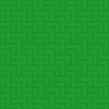Modèle vert sans couture géométrique neutre Images stock