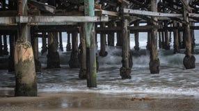 Modèles à la plage photographie stock