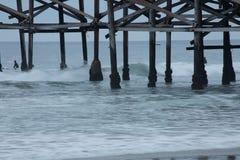 Modèles à la plage images stock