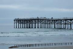 Modèles à la plage photographie stock libre de droits