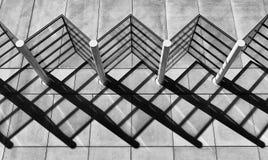 Modèles abstraits d'ombre Image libre de droits