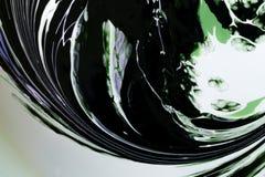 Modèles aléatoires abstraits des couleurs mélangées Image stock