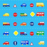 Modèles avec des voitures Photo libre de droits
