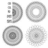 Modèles circulaires Photo stock