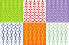Modèles colorés Photographie stock