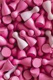 Modèles colorés : conscience de cancer du sein Photos stock
