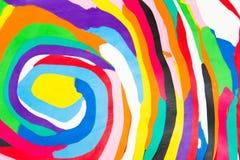 Modèles colorés d'argile Photo libre de droits