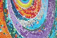 Modèles colorés de belle céramique Photos libres de droits
