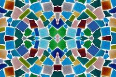 Modèles colorés des carreaux de céramique Photos libres de droits