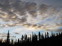 Modèles dans le ciel Photos libres de droits