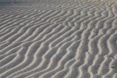 Modèles dans les dunes de sable Photo stock