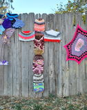 Modèles de crochet Photographie stock libre de droits